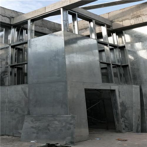 苏州某化工厂防爆墙施工现场