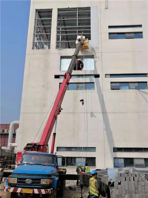 轻质防爆墙厂家与新疆广汇新能源施工
