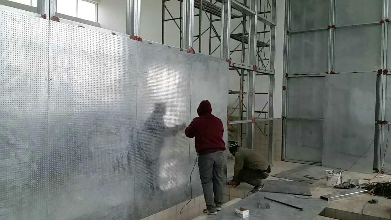 防火防爆墙施工合作青岛金海锅炉房安装